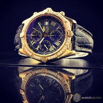 Breitling Crosswind Yellow Gold 43 mm K13055 Diamonds