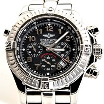 Breitling Chronograph 44mm Automatic pre-owned Black