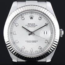 Rolex Datejust 41mm Diamond Ziffern 2012