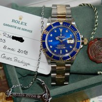 Rolex Submariner Date two tone Blue Dial 16803 (16613) TOP...