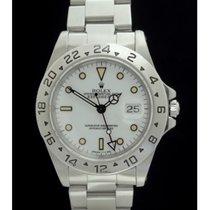 Rolex Explorer II - Ref. 16570 -Tritiumblatt- Box/Papiere -...