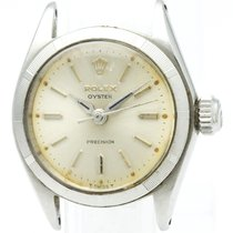 Rolex Oyster Precision Mechanical Stainless Steel Women's...