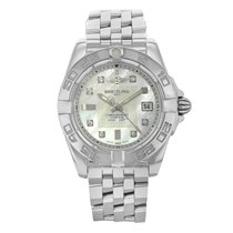 Breitling Galactic 32 Steel 32mm Mother of pearl No numerals United States of America, New York, New York