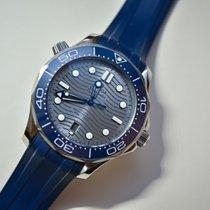 Omega Seamaster Diver 300 M 210.32.42.20.06.001 OMEGA Seamaster Diver300M Blu Gomma 42mm new