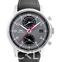 IWC Portuguese Yacht Club Chronograph Steel Black