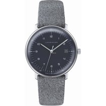 Junghans max bill Ladies Steel 32.7mm Grey No numerals