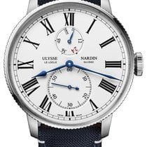 Ulysse Nardin Marine Torpilleur Steel 44mm White United States of America, New York, Airmont