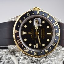 Rolex GMT-Master II 16713 gold-steel diamonds