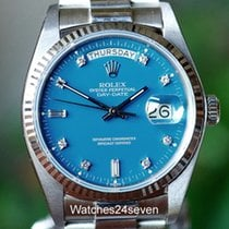 Rolex Day-Date Very good White gold Automatic
