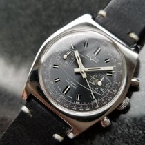 Vulcain Chronograph 36mm Manual winding 1960 pre-owned Black