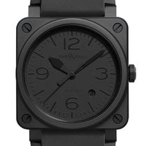Bell & Ross BR 03-92 Ceramic Ceramic 42mm Black Arabic numerals United States of America, Florida, Tarpon Springs