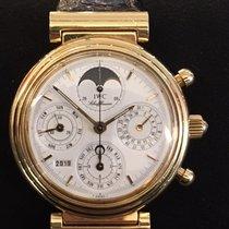 IWC Da Vinci Perpetual Calendar Gelbgold 39mm Weiß Deutschland, Wiesbaden