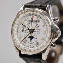 DuBois et fils Chronograph 40mm Automatic 1999 pre-owned White