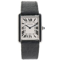Cartier 3169 Acero Tank Solo 27mm