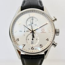 TAG Heuer Carrera Calibre 1887 Steel 43mm Silver Arabic numerals United Kingdom, London