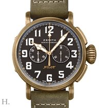Zenith Pilot Type 20 Extra Special Bronze 45mm Black