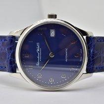 IWC Portuguese (submodel) gebraucht 35mm Blau Chronograph Leder