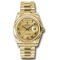 Rolex Day-Date 36 118208 chwap new