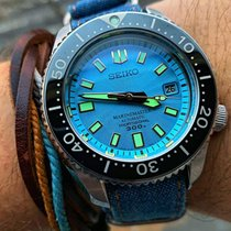 Seiko Acier Remontage automatique SLA015 MM300 Marinemaster Zimbe Limited edition occasion