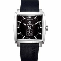 TAG Heuer Monaco Calibre 6 Steel 38mm Black United States of America, California, Simi Valley