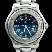 Ebel Discovery Staal 38mm Blauw Romeins