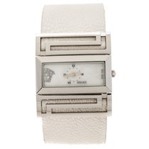 Versace Stål Kvarts Versace Mother of Pearl Stainless Steel Beauville VSQ99 brugt