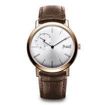 Piaget Altiplano Rose gold 40mm Silver No numerals