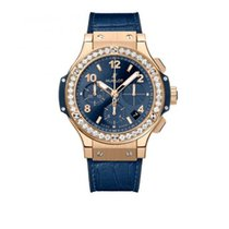Hublot Rose gold Automatic Blue 41mm new Big Bang