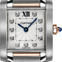 Cartier Tank Française new 2019 Quartz Watch with original box and original papers WE110004
