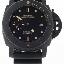 Panerai Ceramic Automatic Black 47mm pre-owned Special Editions