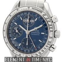 Omega Speedmaster Day Date Steel 39mm Blue United States of America, New York, New York