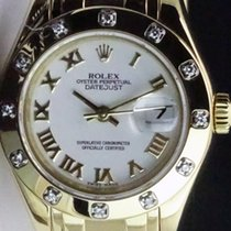 Rolex Lady-Datejust Pearlmaster Blanc Romain