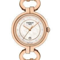 Tissot Flamingo Steel 30mm Mother of pearl