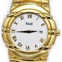 Piaget Tanagra pre-owned 35mm White Yellow gold