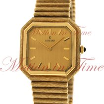 Concord Vintage, Champagne Index Dial, 14kt Yellow Gold on...