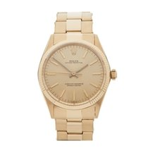Rolex Oyster Perpetual 34 18K Yellow Gold Unisex 1005 - W4145