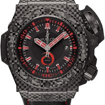 Hublot King Power Alinghi Carbon Fiber Men's Watch