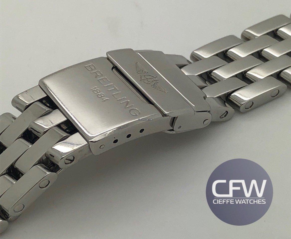 alta qualità comprare a buon mercato Guantity limitata Vendesi Breitling Pilot Steel Strap 20mm Chronomat per 599 ...
