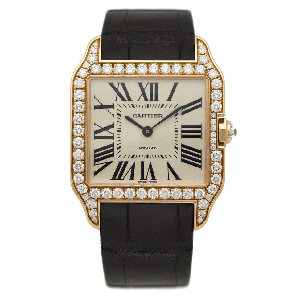 4be1280a478 Cartier Santos Dumont - Todos os preços de relógios Cartier Santos Dumont  na Chrono24