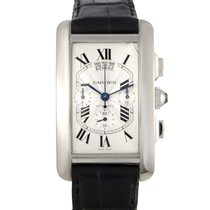 Cartier Tank Americaine Chronograph Men's Automatic Watch...