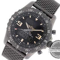 Breitling Chronospace Military Сталь 48mm Чёрный Aрабские