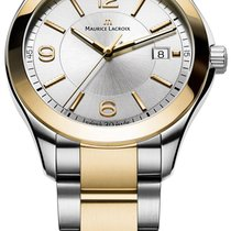 Maurice Lacroix Miros Gold/Steel 40mm Silver United States of America, New York, Airmont