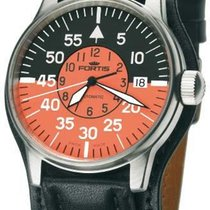 Fortis Flieger 595.11.13L01 new