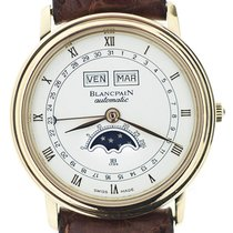 Blancpain Villeret Autom Oro Calendario Completo OFFICIAL SEVICE