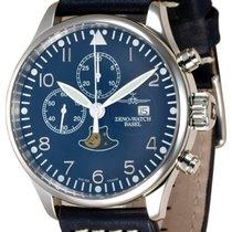 Zeno-Watch Basel Acero 44mm Automático 4100-i4 nuevo