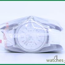 Jaeger-LeCoultre Master Compressor Chronograph Acier 36.7mm Blanc Sans chiffres