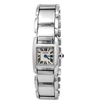 Cartier 17mm Quartz new Tank (submodel) White