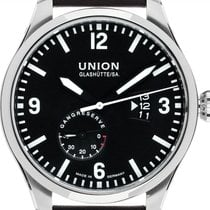 Union Glashütte Belisar Pilot Steel 45mm Black Arabic numerals