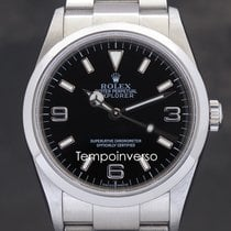 Rolex Explorer Steel 36mm Black Arabic numerals United Kingdom, London, Paris, Brussels & Barcelona face to face delivery only - Other countries shipping with Brinks and DHL Express