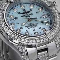 Breitling Colt Automatic Steel 38mm Blue No numerals United States of America, New York, New York